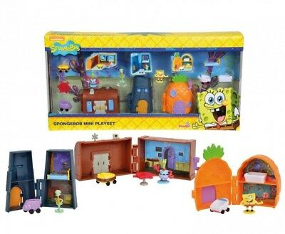 BRAND NEW Spongebob Mini Play Set