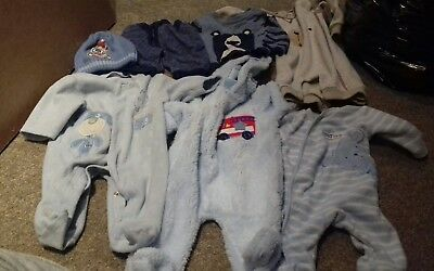 Bundle baby boys winter clothing 0-3months