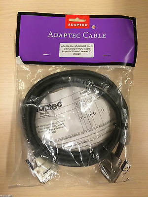 Adaptec External 68-pin VHDCI Male to Male Ultra320 LVD Cable 2 Meters