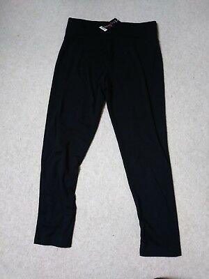 black maternity trousers size 16