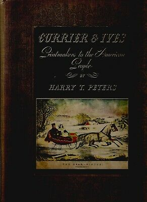 Currier & Ives Printmakers to the American People - 1942 Special Edition
