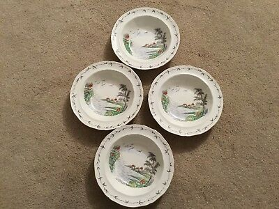 Alfred Meakin Bone China Bowls (x4)