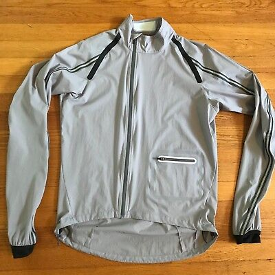 Rapha Classic Wind Jacket M Medium Gray Water Resistant Shell