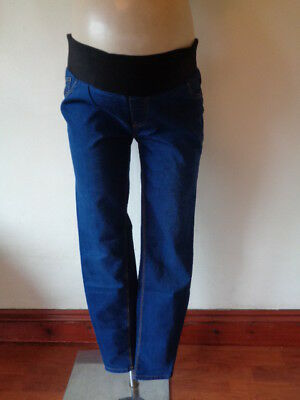 New Look Maternity Blue Under Bump Jeggings Skinny Jeans Size 12 New