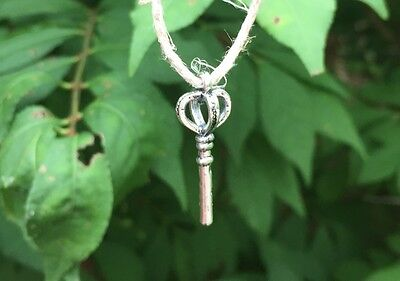 Win The Lottery With Magic 100% Guaranteed Pagan Pendant Silver Key Metaphysical