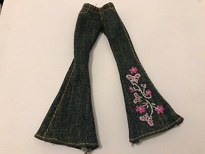 BRATZ Doll Clothes FORMAL FUNK RUNWAY DISCO  FIANNA Jeans  - Sparkly Butterflies