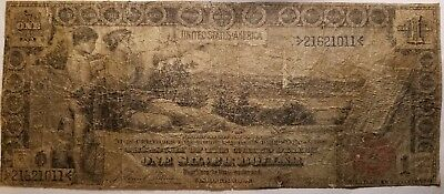 1896 One Dollar Educational Series Silver Certificate