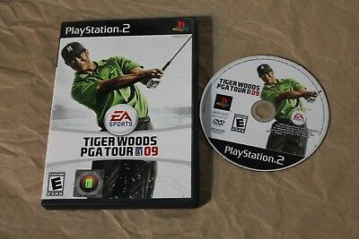 USED Tiger Woods PGA Tour 09 Playstation 2 PS2 Canadian Seller!