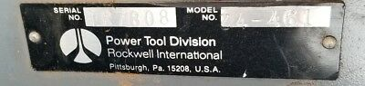 Rockwell Delta 10 Inch Unisaw 3phase 3hp