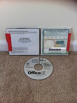 Microsoft Office 97 Small Business Edition Pc Cd-Rom Free Post - No Disc 2