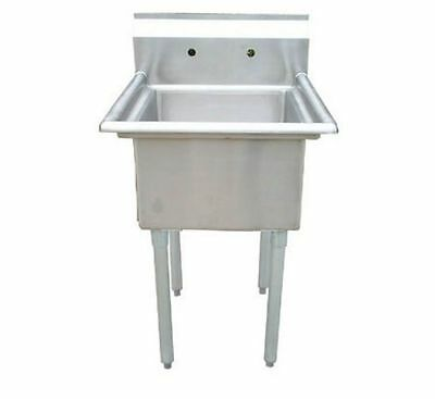 1 Compartment Sink, No drainboard, 304 S/S 16 Ga, Arc Stainless Model S1-1818-16