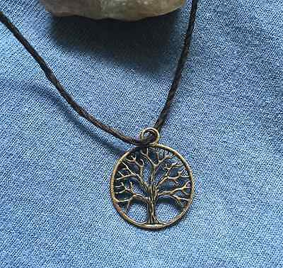 A Life Of Success Real Pagan Magic Bronze Tree Of Life Necklace Wicca Paranormal