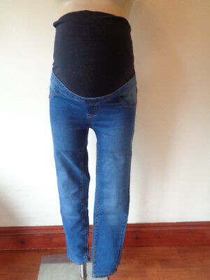 New Look Maternity Blue Over Bump Jeggings Skinny Jeans Size 8 10 12 14 16 New