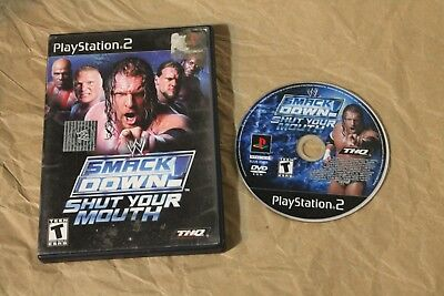USED WWE SmackDown! Shut Your Mouth Playstation 2 PS2 Canadian Seller!