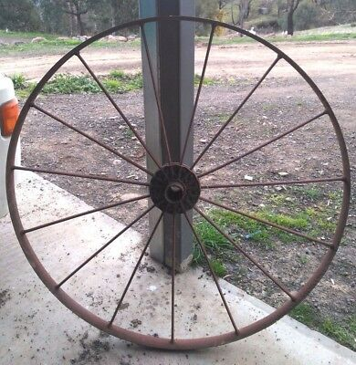 Vintage Wagon /horse Carriage Wheel Large