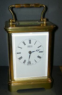 Large, Shreve, Crump & Low, Hi-Grade Swiss Carriage Clock, Matthew Norman