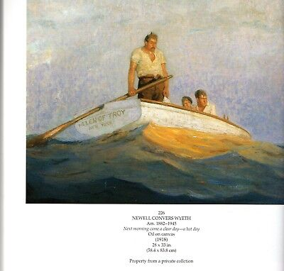N C Wyeth-Andrew Wyeth-Frank Schoonover-Rockwell Kent-Barridoff Galleries catlog