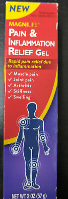 Magnilife Pain & Inflammation Relief Gel, 2 oz
