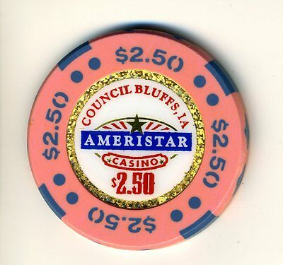 $2.50 * Ameristar Casino * in Council Bluffs, Iowa.