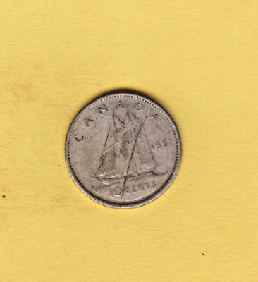 1961 10C Canada 10 Cents