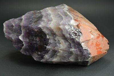 "GIANT 2.5 KG Auralite 23 ""Red Desert"" Red / Dusty Tip Crystal Point RARE CANADA"