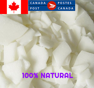 100% Natural  Soy Wax Flakes For Candle Scent Cosmetic No Additives (2 Pounds)