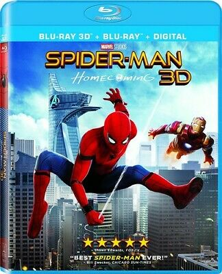 Spider-Man: Homecoming - 2 DISC SET (REGION A Blu-ray New) 043396507173