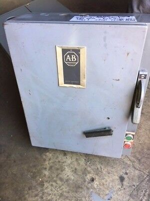 Allen Bradley Size 3 Combo Starter, 100 Amp Fusible Switch and CPT Nema 1
