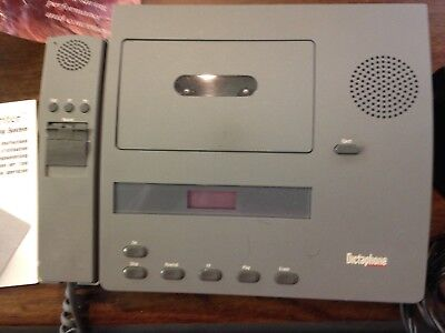 Dictaphone Express Writer 3740 with Foot Pedal Headphones  used