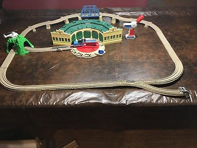 RC Remote FACE CHANGING THOMAS at Tidmouth Sheds Trackmaster Motorized Train