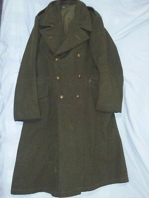 WW2 WWII Canadian British Greatcoat Great Coat Dismounted