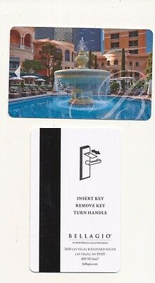 new issue--BELLAGIO---Las Vegas, NV---Room key