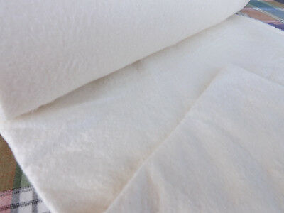 Cotton Quilters Wadding with Scrim W254cm x 1M Double Sided Fusible Batting