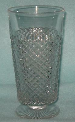 Westmoreland English Hobnail Clear Footed Tumbler
