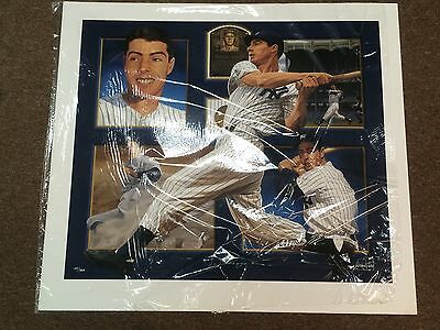 "Joe DiMaggio Autographed 30"" x 40"" Giclee by Danny Day"