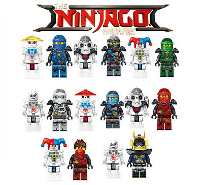 16pcs Ninjago Kai DC Building Blocks Batman Movie Marvel Lego Figure Toys Xmas