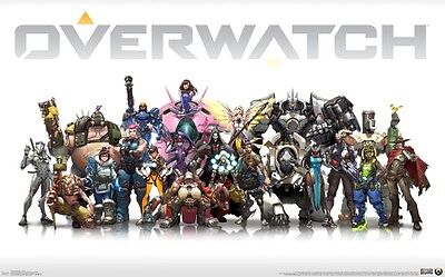 Overwatch - Cast Poster #1B