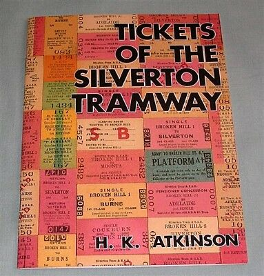 Tickets of the Silverton Tramway, STCo, NSW, SC book