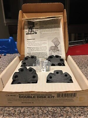 Lee Double Disk Kit Auto Disk Powder Measure