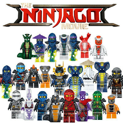 24pcs Ninjago Kai DC Building Blocks Batman Movie Marvel Lego Figure Toys Xmas