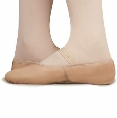 Capezio Child Full Sole Classique Ballet leather shoe Salmon sz11.5N BNWT (18)