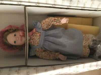 Ashton-Drake doll Laura Little House on the Prairie NEW