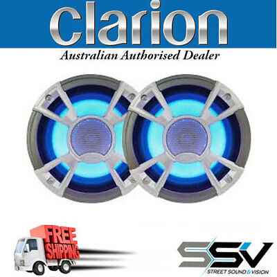 """CLARION CMQ1622RL 6-1/2"""" MARINE COAXIAL SPEAKER SYSTEM FREE SHIPPING Clarion"""