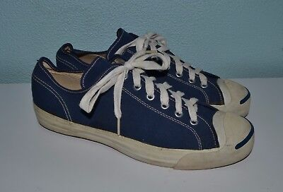 Vintage 70's Jack Purcell La Crosse Pro-AM Canvas Shoes 7.5 Made in USA