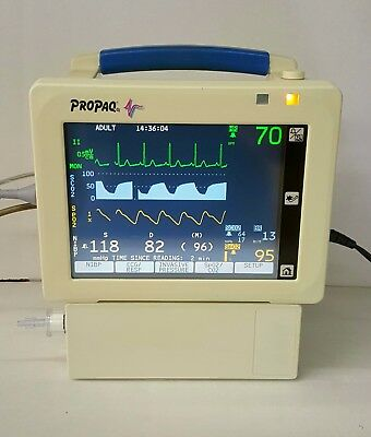Welch Allyn Propaq Patient Monitor *with Co2* Ecg, Spo2, Nibp - Dental Sedation