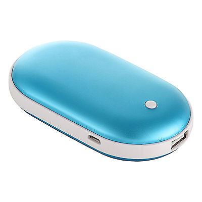 5000Mah USB Charger Colorful Electric Hand Warmer Pocket Rechargeable Heater