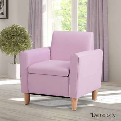Kids Arm Chair in Pink