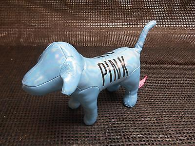 VICTORIA SECRET PINK Metallic BLUE DOG Advertising Give Away Promotion
