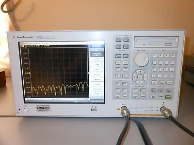 Agilent E5061A ENA-L RF Network Analyzer, 300 kHz to 1.5 GHz 75 ohm