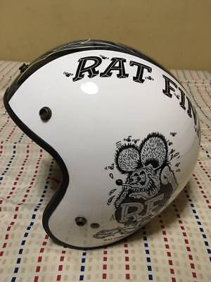 Excellent! Rat Fink Jet Helmet Shoei Freedom S-Size Ed Roth